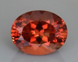 Oregon Sunstone 2.46 ct AAA Intense Orangish Color  SKU-11