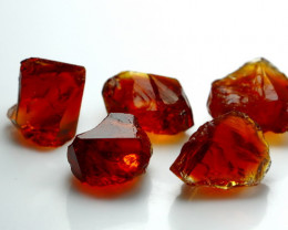 NR!! 28.15 CTs Natural & Unheated~ Orange Citrine Rough Lot