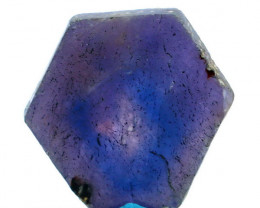 NR!! 10.34 CTs Natural & Unheated~ Purple Pink Ruby Slice