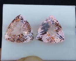 19.50 Carats Natural  Brazilian Morganite Gemstone