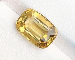 5.50 Ct Natural Yellow Transparent Citrine Gemstone