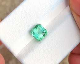 1.90 Ct Natural Greenish Blue Transparent Tourmaline Gemstone