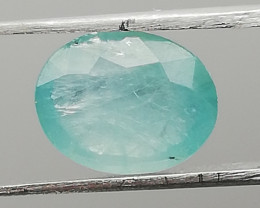 Grandiderite, 2.095ct, very nice light blue stone in oval cut!!!