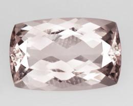 *NoReserve*Morganite 6.34 Cts Rare Natural Pink Color Gemstone