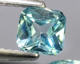 3.75 CTS~TOP LUSTROUS NATURAL CAMBODIA CUSHION~BLUE ZIRCON!!
