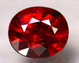 Almandine 1.47Ct Natural Vivid Blood Red Almandine Garnet D0902/B3