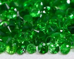 2.25Ct Calibrate 1.1mm Natural Green Color Tsavorite Garnet Lot C0714