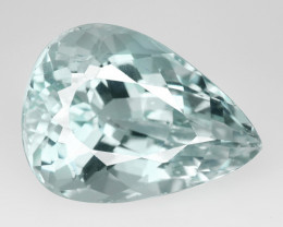 Aqua Topaz Un-Heated 16.67 Cts Natural Gemstone