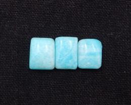 16.5Ct Natural Amazonite Gemstone Cabochons ,Bi Color Amazonite H1574