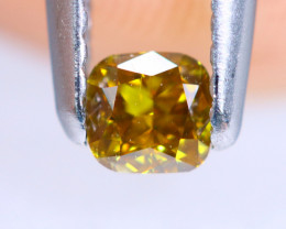 0.22cts NATURAL African Fancy Diamond / KL693