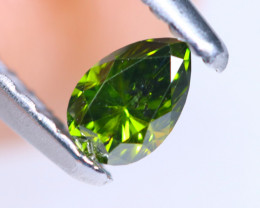 0.23cts NATURAL African Fancy Green Diamond / KL694