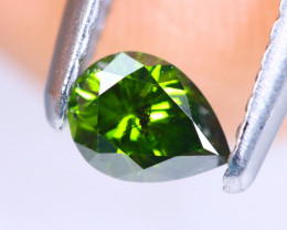 0.28cts NATURAL African Fancy Green Diamond / KL696
