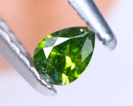 0.13cts NATURAL African Fancy Green Diamond / KL700