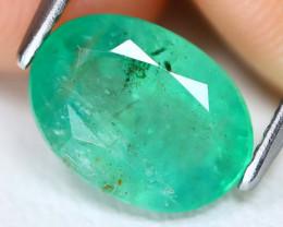 Zambian Emerald 1.99Ct Oval Cut Natural Green Color Emerald B0717