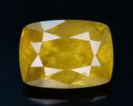 Rare AAA Fire 3.35 ct Malayaite Sphene Badakhshan Afghanistan
