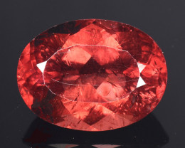 4.59 CT RARE RED  APATITE TOP CLASS CUT AR15