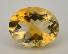 Citrine 3.50 Ct Natural Yellow Color Citrine