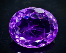 10.36 Crt Natural Amethyst   Faceted Gemstone.( AB 82)