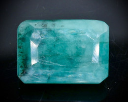 6.20 Crt Natural Emerald   Faceted Gemstone.( AB 82)