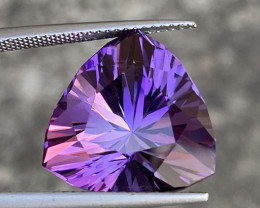 Natural Amethyst 12.5 Cts Excellent Fancy Cut Gemstone