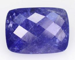 *No Reserve*Tanzanite 11.65 Cts Rare Violet Blue Color Natural