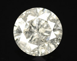 Diamond 0.30 Cts Untreated Fancy White Color Natural Loose Diamond