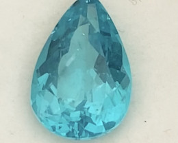 Pretty Neon Blue Pear Shape Apatite - Madagascar KR079
