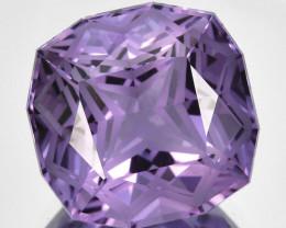 ~CUSTOM CUT~ 5.30 Cts Natural Purple Amethyst Fancy Cushion Bolivia
