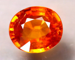 Spessartite Garnet 1.60Ct Natural Orange Spessartite Garnet E1013/B34