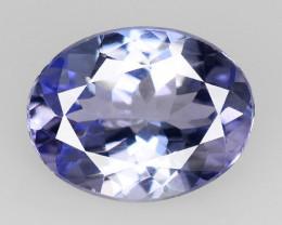 *No Reserve*Tanzanite 1.86 Cts Amazing Rare Violet Blue Color Natural Gemst