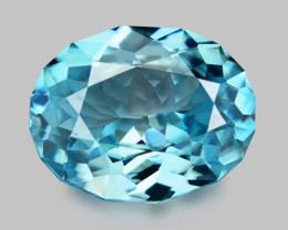 2.21 CT FANCY CUT SPARKLING  ZIRCON SPARKLING LUSTER BZ2