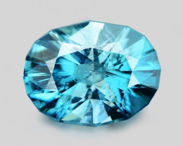 2.20 CT FANCY CUT SPARKLING  ZIRCON SPARKLING LUSTER BZ10