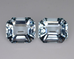 Top Grade 17.70 ct Attractive Color Aquamarine Pair