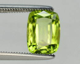 Peridot 2.50 Ct Natural Amazing Color, Top Quality