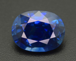 Royal Blue Sapphire 2.31  ct Stunning Blue Fire  SKU-35