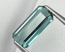 1.36 Cts Top Quality Greenish Blue Natural Tourmaline