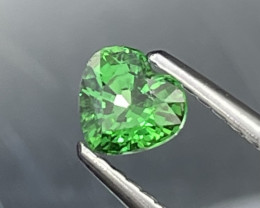 Eye Catching Vivid Green Natural Tsavorite 0.51 Cts VVS