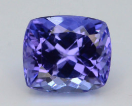 AAA Grade 1.55 ct Tanzanite eye catching Color~KJ