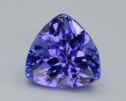 AAA Grade 1.25 ct Tanzanite eye catching Color~KJ