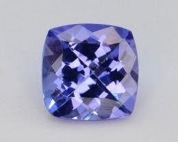 AAA Grade 0.80 ct Tanzanite eye catching Color~KJ