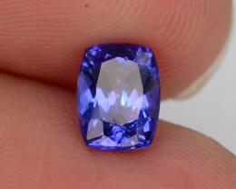 AAA Grade 1.15 ct Tanzanite eye catching Color~KJ