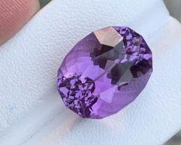 17.65 Carats fancy cut amethyst gemstone