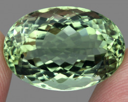21.40  ct Natural Earth Mined Top Quality Rich Green Amethyst Brazil