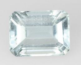 *NoReserve*Aquamarine 1.85 Cts Unheated Blue Natural Gemstone