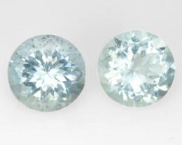 *No Reserve*Aquamarine 3.34 Cts Un Heated Blue Natural Loose Gemstone