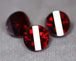 Almandine 5.63Ct VS2 Pixalated Cut Natural Almandine Garnet Lot C1015