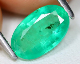 Zambian Emerald 1.08Ct Oval Cut Natural Green Color Emerald A1017