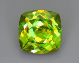 Rare AAA Fire 2.88 ct Chrome Sphene Sku-73