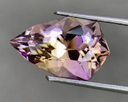 9.52 Cts  FALWLESS BOLIVIAN  AMETRINE Fancy cut   Gemstone
