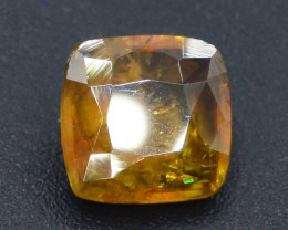 Rare AAA Astonishing Fire 2.35 ct Chrome Sphene from Himalayan Range Skardu